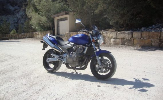 Motorbike for sale in Paphos Cyprus : Honda Hornet