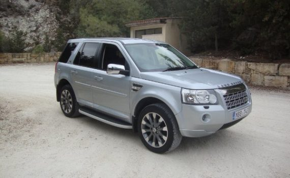 Car for sale in Paphos Cyprus : Silver Land Rover Freelander