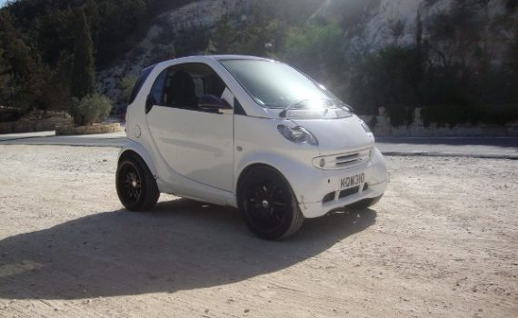 Car for sale in Paphos Cyprus : White Smart Passion