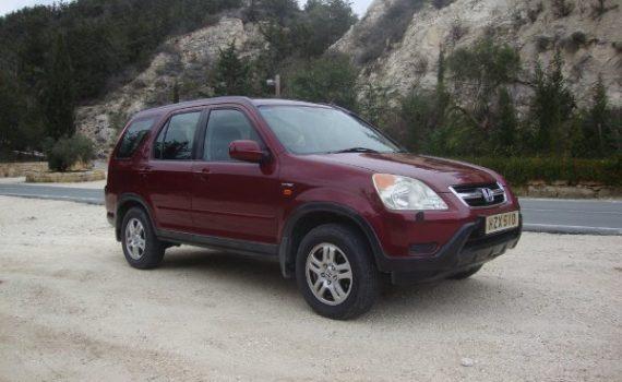 Car for sale in Paphos Cyprus : Honda CRV