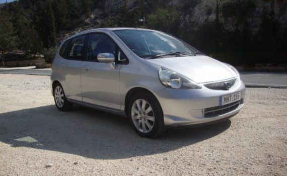 Car for sale in Paphos Cyprus : Honda Jazz