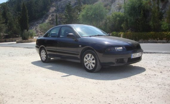 Car for sale in Paphos Cyprus : Black Mitsubishi Carisma