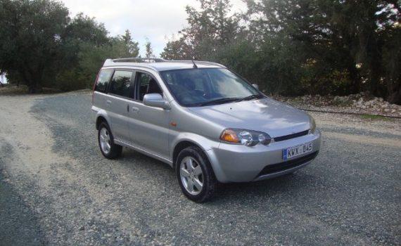 Car for sale in Paphos Cyprus : Silver Honda HRV