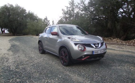 Car for sale in Paphos Cyprus : Silver Nissan