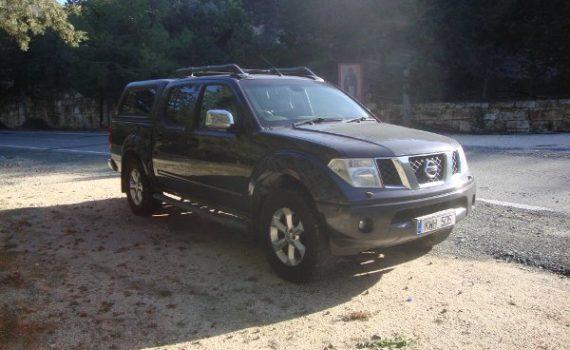Car for sale in Paphos Cyprus : Grey Nissan Navara Aventura