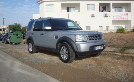 Car for sale in Paphos Cyprus : Land Rover Discovery 4 TDV6 Van