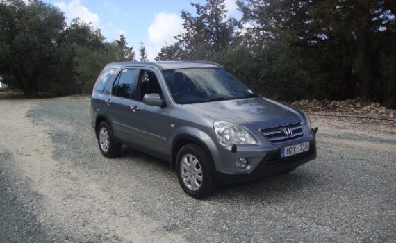 Car for sale in Paphos Cyprus : Grey Honda CRV