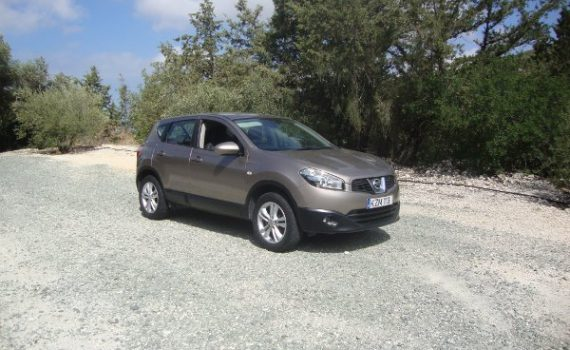 Car for sale in Paphos Cyprus : Bronze Nissan Qashqai