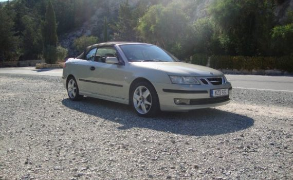 Car for sale in Paphos Cyprus : Saab 93 convertible