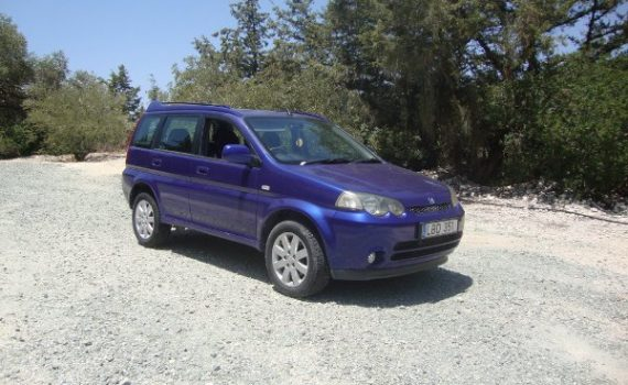 Car for sale in Paphos Cyprus : Blue Honda HRV