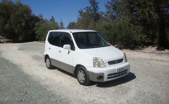 Car for sale in Paphos Cyprus : White Honda Capa