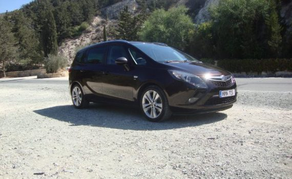 Car for sale in Paphos Cyprus : Bronze Vauxhall Zafira Tourer