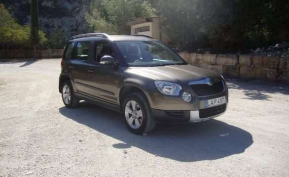 Car for sale in Paphos Cyprus : Bronze Skoda Yeti