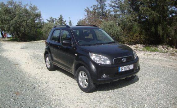 Car for sale in Paphos Cyprus : Black Daihatsu Terios